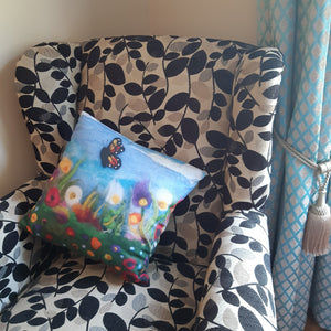 Dancing Blooms - Cushion Cover