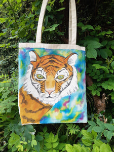 Eye of the Tiger - Cotton Tote Bag