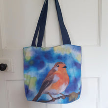 Load image into Gallery viewer, Robin - Cotton Tote Bag