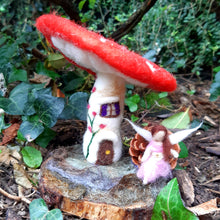Load image into Gallery viewer, Fairy Toad Stool House
