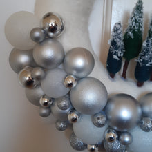 Load image into Gallery viewer, Bling Bauble & Santa Wreath