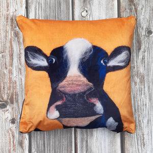 Holy Cow - Velvet Cushion