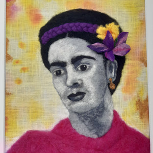Frida - Original Needle Felted Art