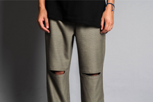 Load image into Gallery viewer, Green Tailored Pants
