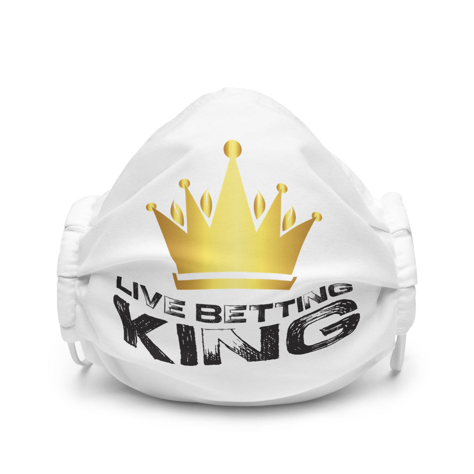 Live Betting King Premium face mask