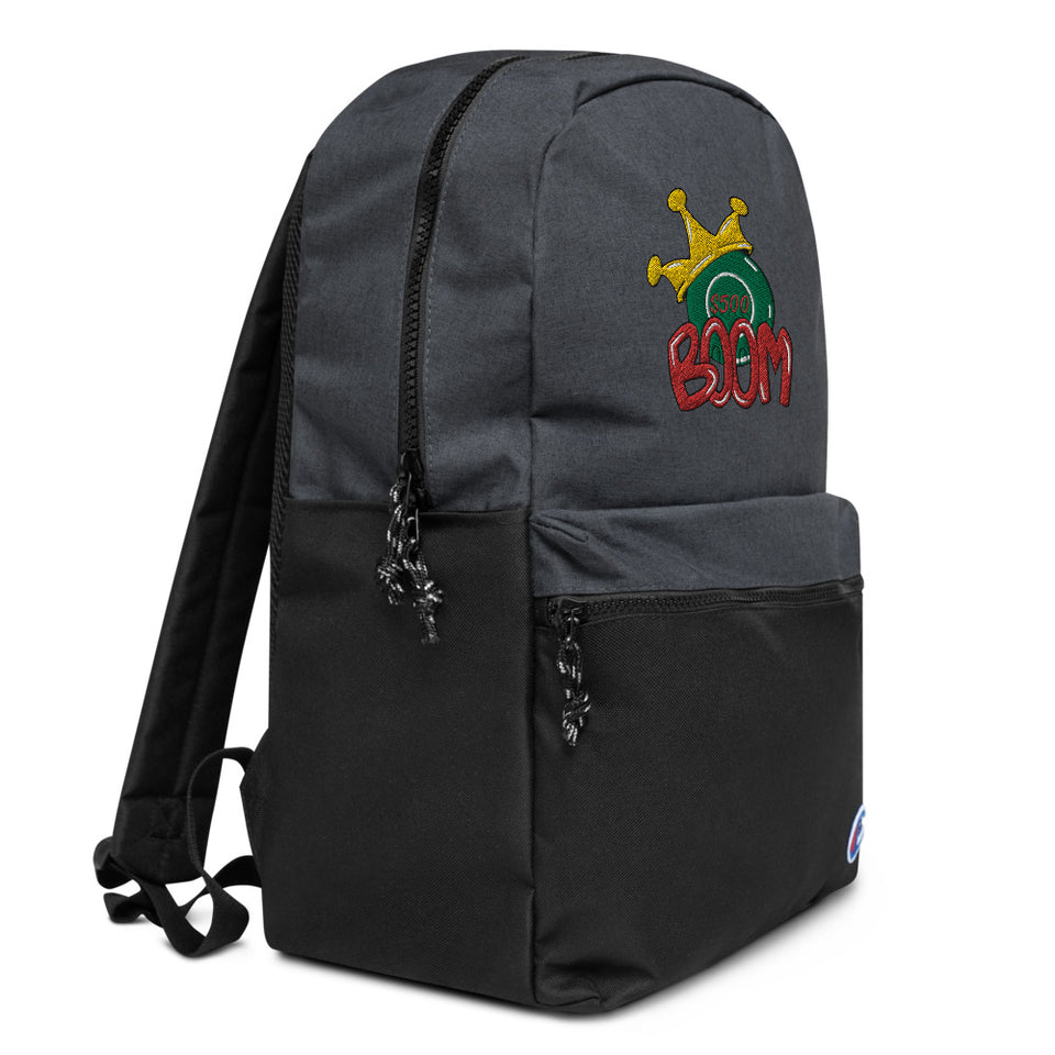 Boom 500$ Embroidered Champion Backpack
