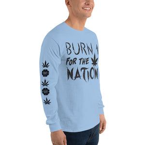 Burn 1 For The Nation Long T-Shirt
