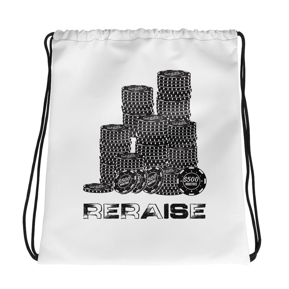 RERAISE Drawstring Bag