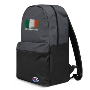 Irishman Embroidered Champion Backpack