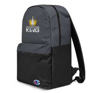 Live Betting King Embroidered Champion Backpack