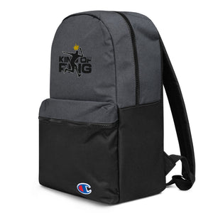 King Of Ping Embroidered Champion Backpack