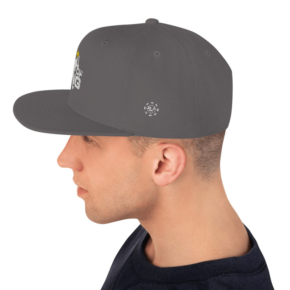 King Of Ping Snapback Hat