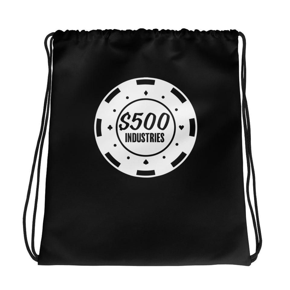 500 Industries Drawstring Bag