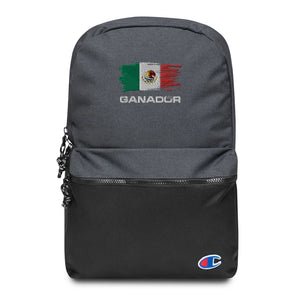 Mexico Ganador Embroidered Champion Backpack