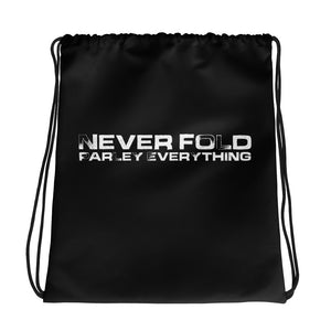Never Fold Parley Everything Drawstring Bag