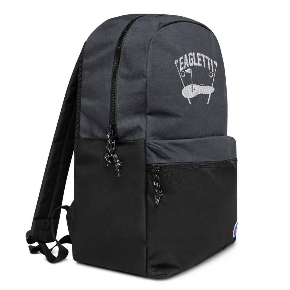 Eagletti Golf Embroidered Champion Backpack