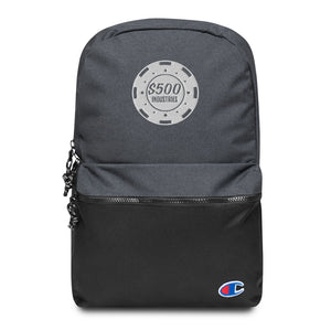 500 Industries Embroidered Champion Backpack