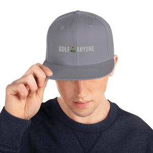 Golf Anyone Snapback Hat