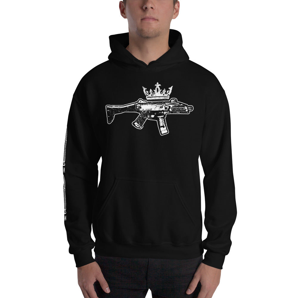 Scorpion Crown 9mm Hoodie