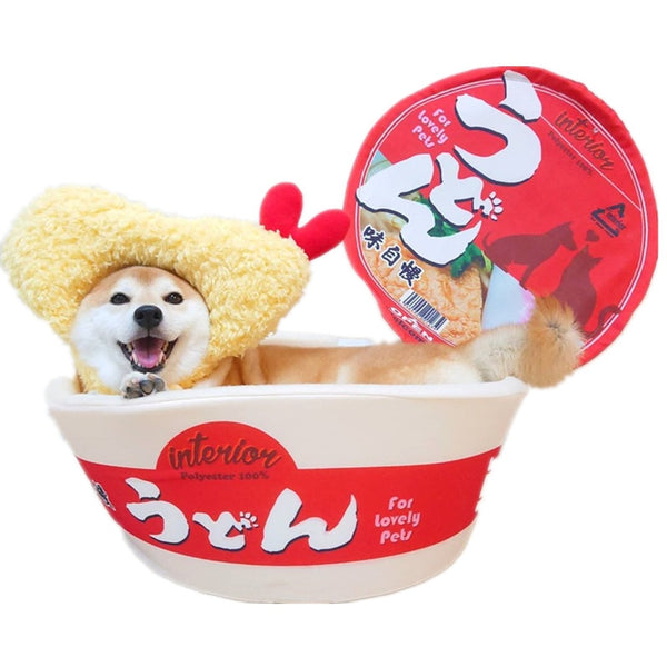 APETLOVE™-Soft instant INS wind instant noodle doghouse
