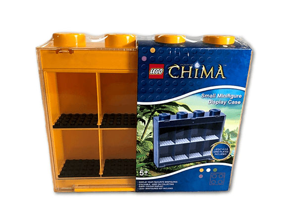 Legends Of Chima Small Minifigure Display Case - Yellow