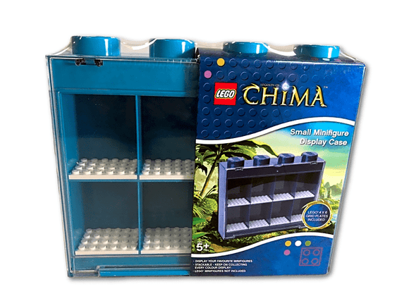 Legends Of Chima Small Minifigure Display Case - Teal