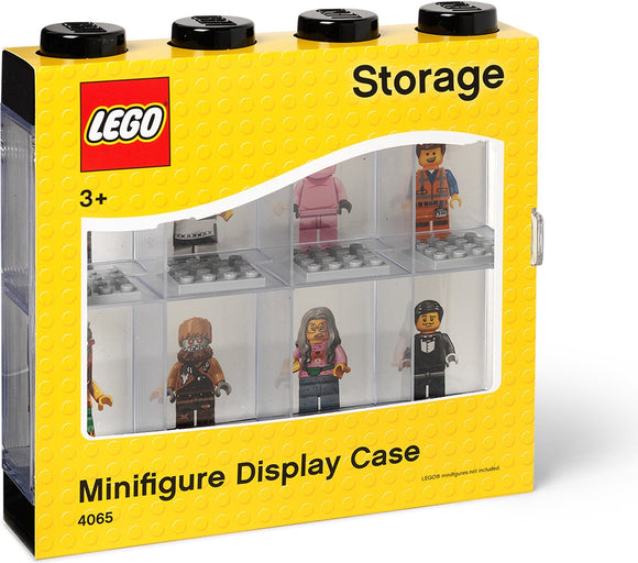 LEGO Minifigure Display Case 8 (Bright Red)