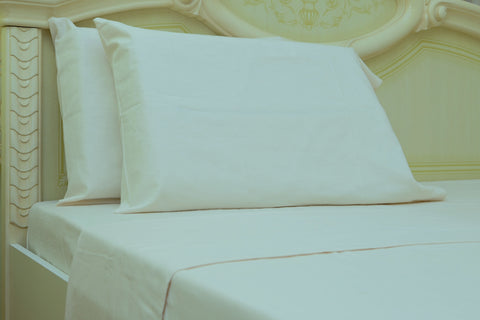 flannel sheets beige