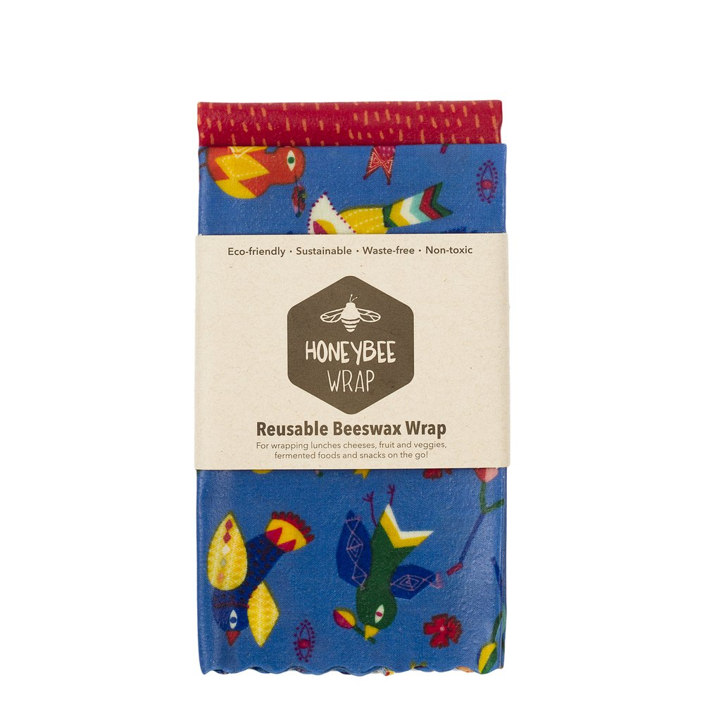 Twin Pack Of Large Beeswax Wrap