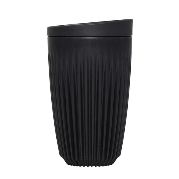 12oz Single Unit Packaging (Cup And Lid) - Charcoal