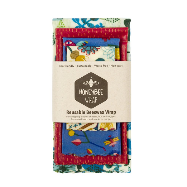 The Kitchen Collection - 4 Pack Beeswax Wrap