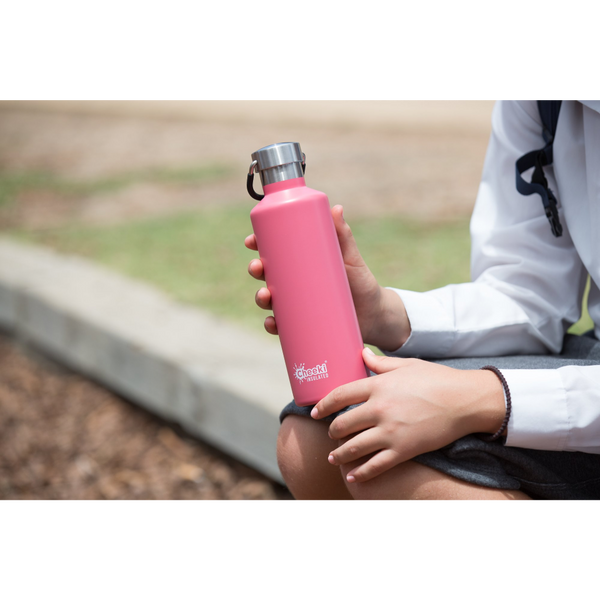 600ml Classic Insulated Bottle - in 7 colors