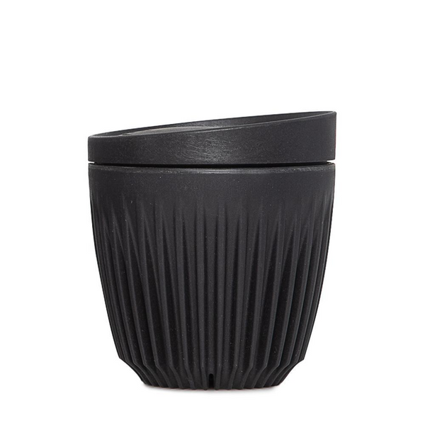 6oz Single Unit Packaging (Cup And Lid) - Charcoal