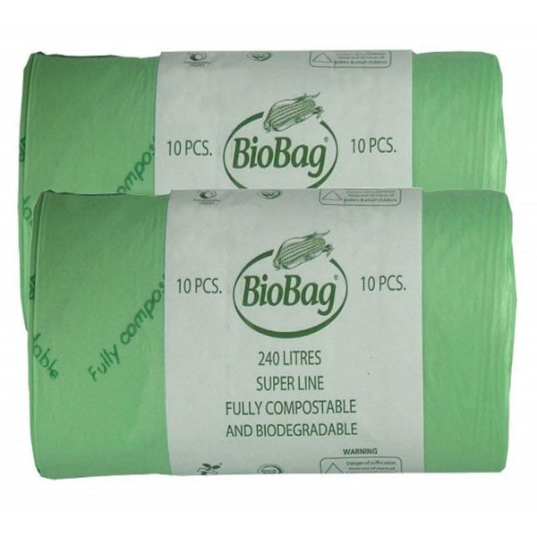 BioBag Superline 240 Litre - 12 Bags