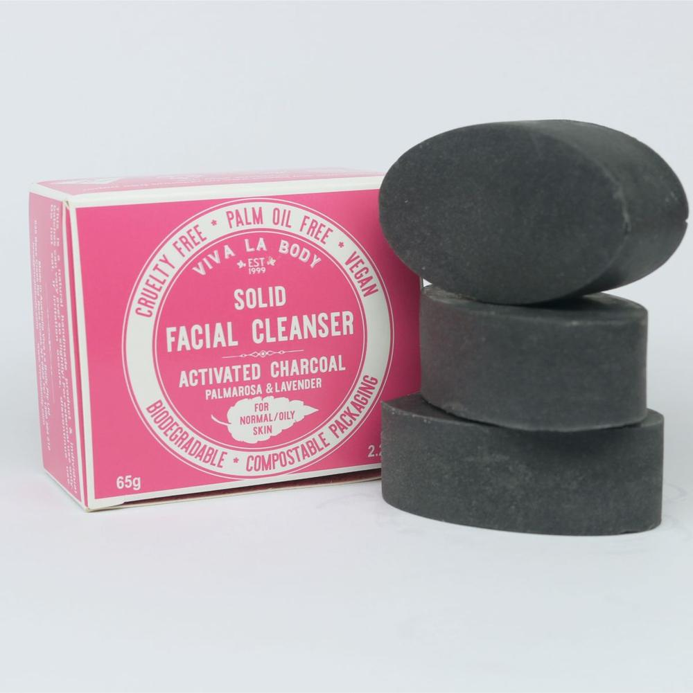 Facial Cleanser Activated Charcoal for Normal to Oily Skin