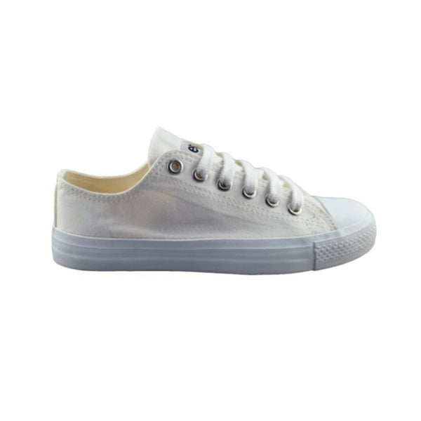 Sneakers Lowcuts All White - Limited Edition Organic Fairtrade