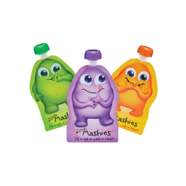 Little Mashies 2pk Reusable Food Pouches