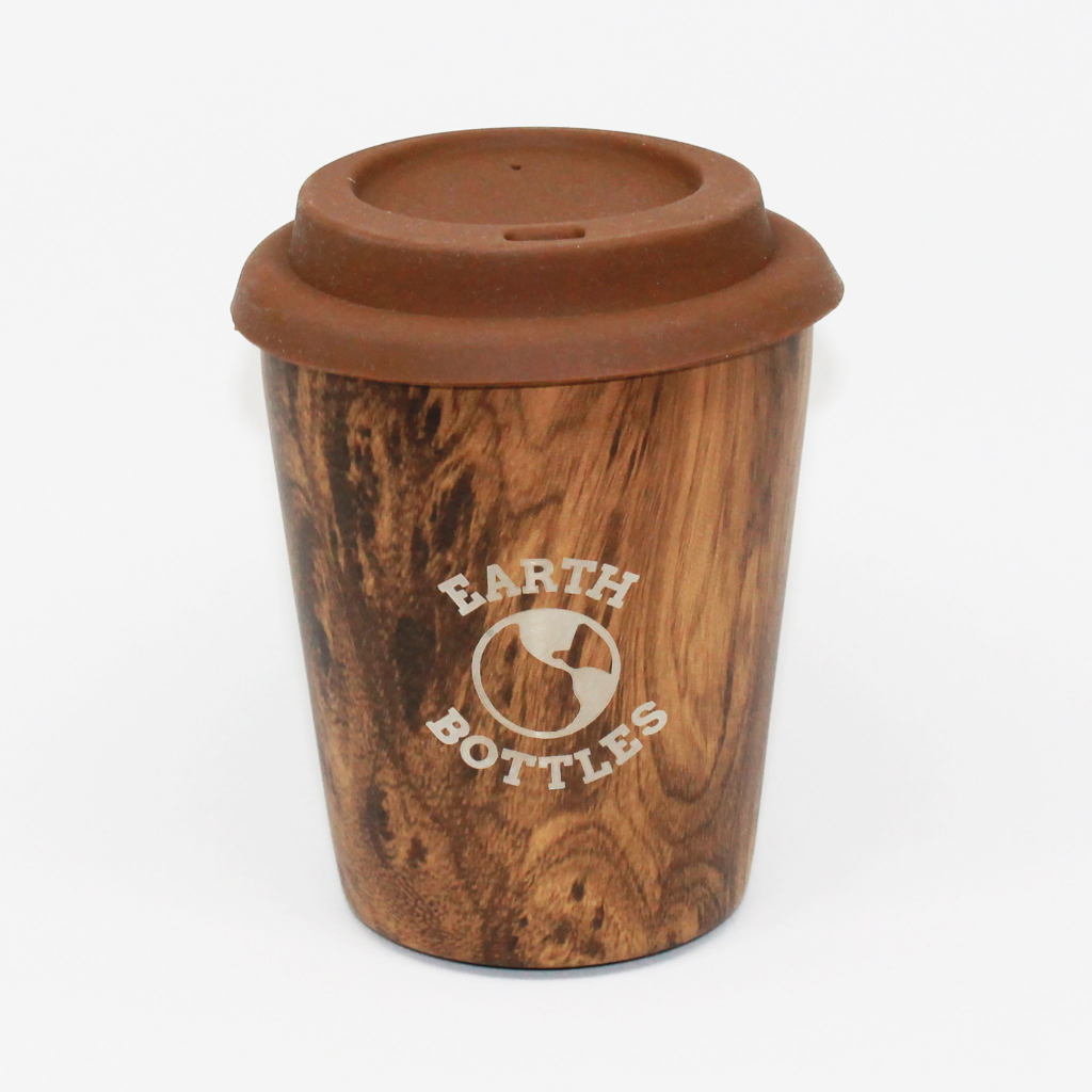 Coffee Nut 10oz Travel Cup - Pale Timber