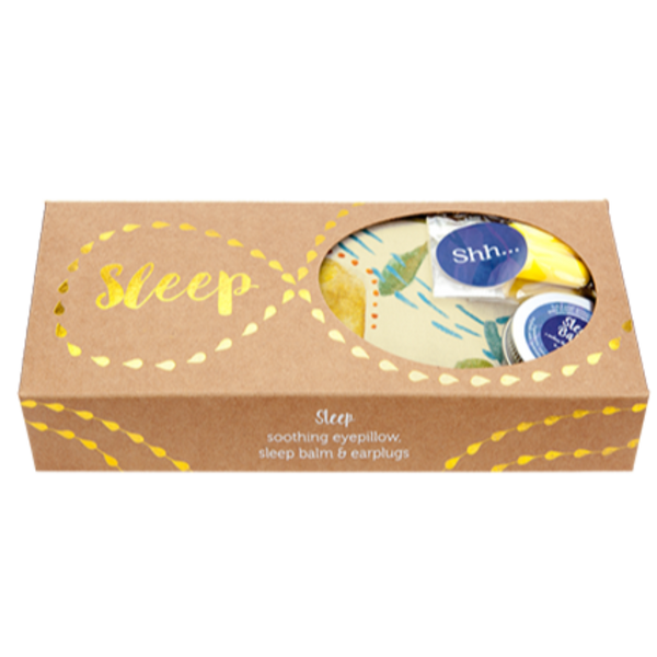Sleep Gift Pack – Banksia Eyepillow, Sleep Balm and Earplugs