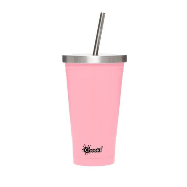 500ml Stainless Steel Insulated Tumbler - Pink
