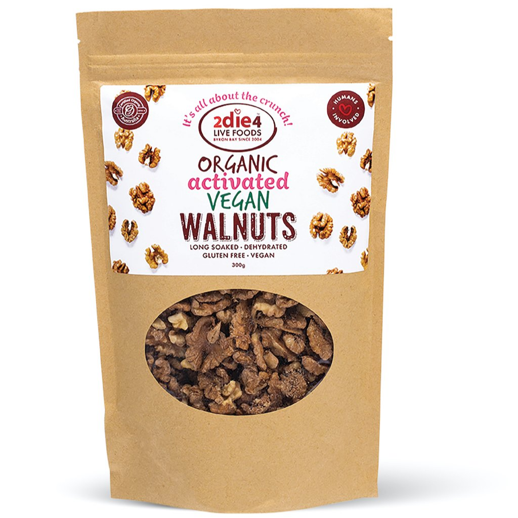 Activated Organic Vegan Walnuts
