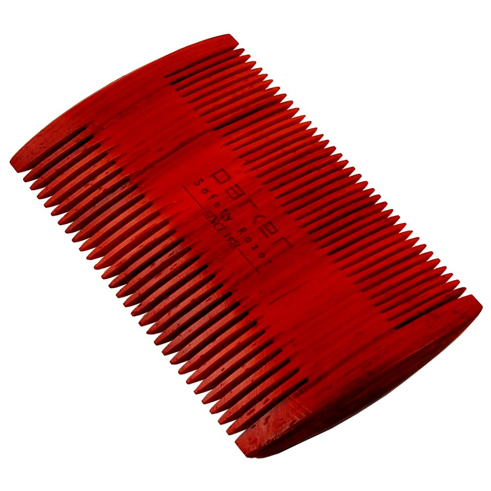 Parker Rosewood Double Sided Beard Comb