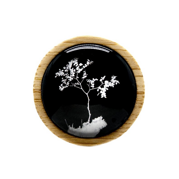 Tree Brooch - Sustainable Jewelry - Groomsman Pin - Australian Wedding Idea