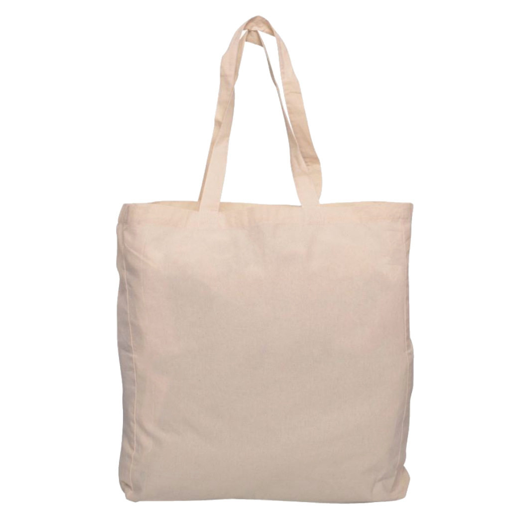 Cotton Bag with Gusset