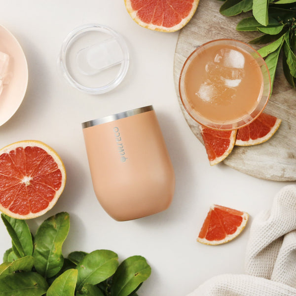 Mini Insulated Tumbler Los Angeles Peach 354ml