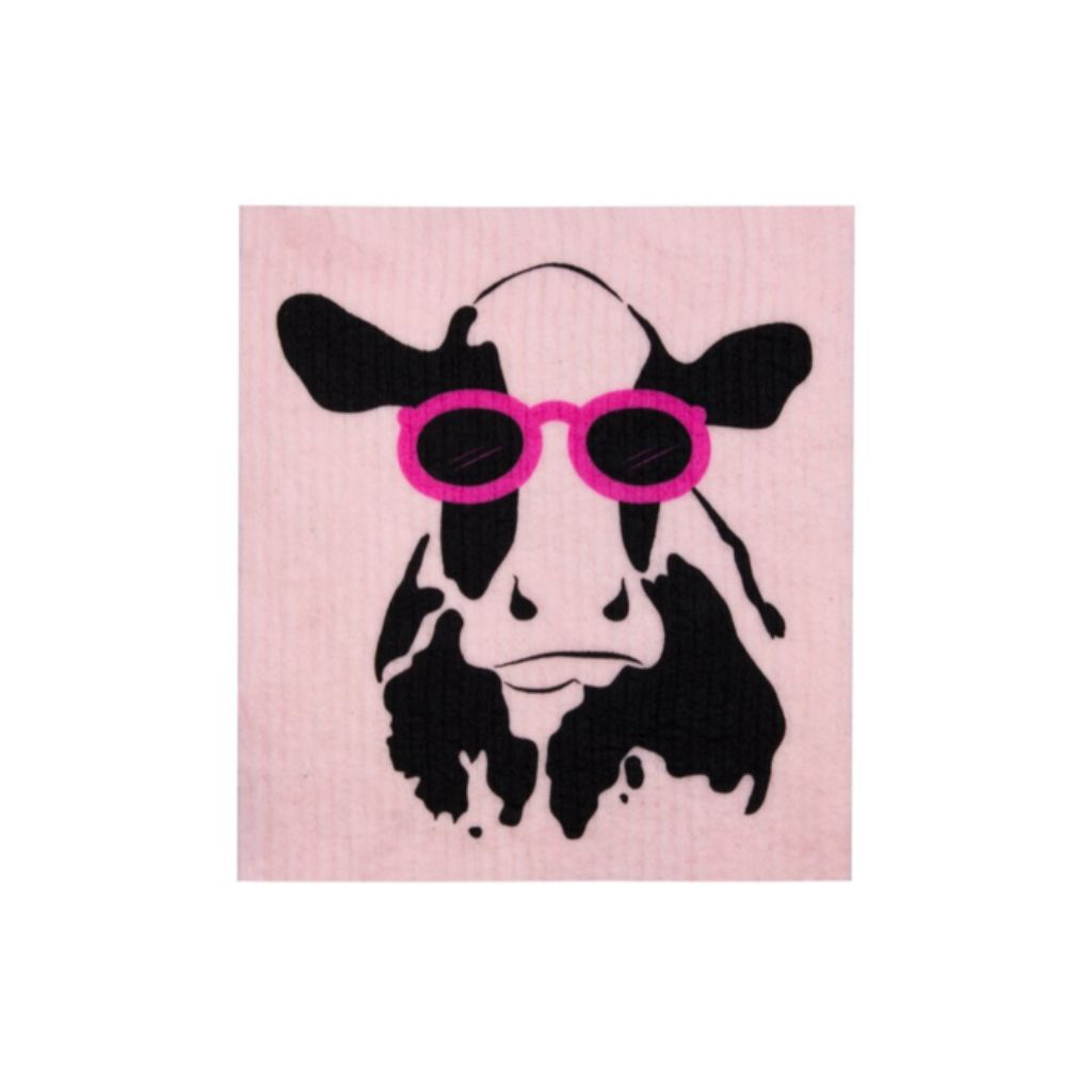 Sponge Cloths 100% Compostable - Cow