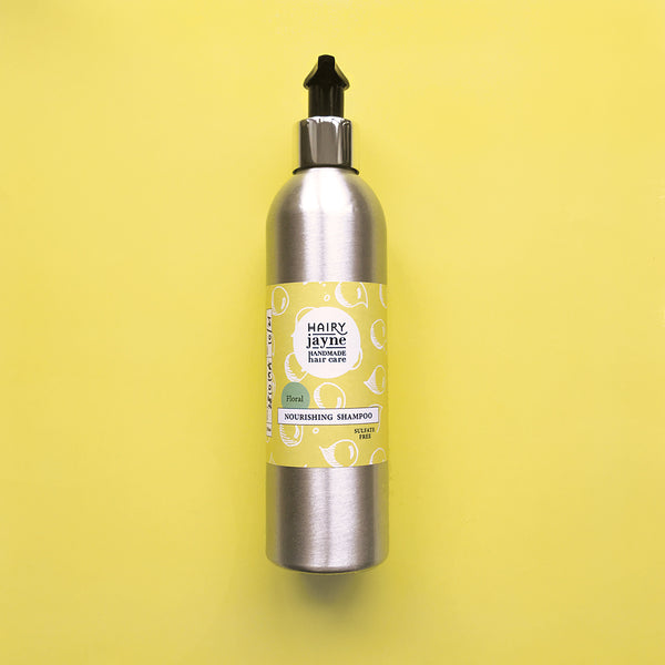 Refillable nourishing shampoo