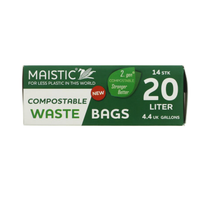 Compostable bin bags – 20L