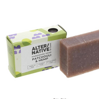 Patchouli & hemp soap