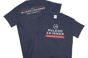 Jamie McLeod-Skinner Secretary of State Campaign T-Shirt